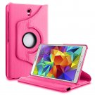 New Hot Pink Samsung Galaxy Tab S 10.5 Tablet PU Leather Case Cover Stand