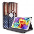 New Flag USA Samsung Galaxy Tab S 10.5 Tablet PU Leather Case Cover Stand