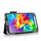 New Black Samsung Galaxy Tab S 8.4 10.5 Folio Case Cover Stand