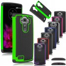 New Hybrid Protective Rugged Rubber Matte Hard Case Cover For LG G3
