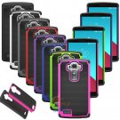 New LG G4 Hybrid Impact Rugged Rubber Shockproof Hard Protective Case Cover Skin