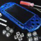 New XCM  PSP-3001 PSP-3000 Faceplate Bling Crystal Blue