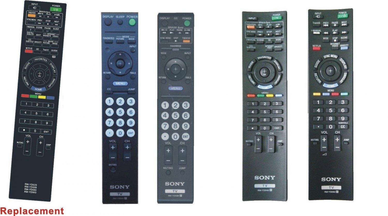 SONY RM-YD035 Replace YD029 fit KDL-40HX800 KDL-55HX800 KDL-46HX800 KDL46HX800