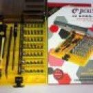 New Magnetic 45 in 1 Screwdriver Tweezer Repair tool for All Home Devices Repair