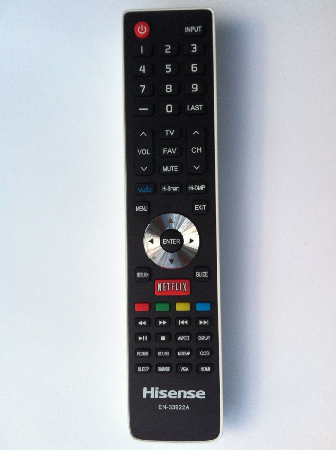 NEW Hisense Smart TV REMOTE EN-33922A for 32K366WUS 40K366NW 40K366WUS 50K366GW