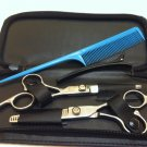 5 in1 Hair Cutting Thinning Hairdressing Shears Scissors Comb Set Barber Tool
