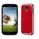 New Samsung Galaxy S5 Candy Shell Snap Cover Case Red/Black