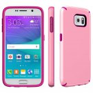 New Samsung Galaxy S6 Candy Shell Cover Case Pink/Pink