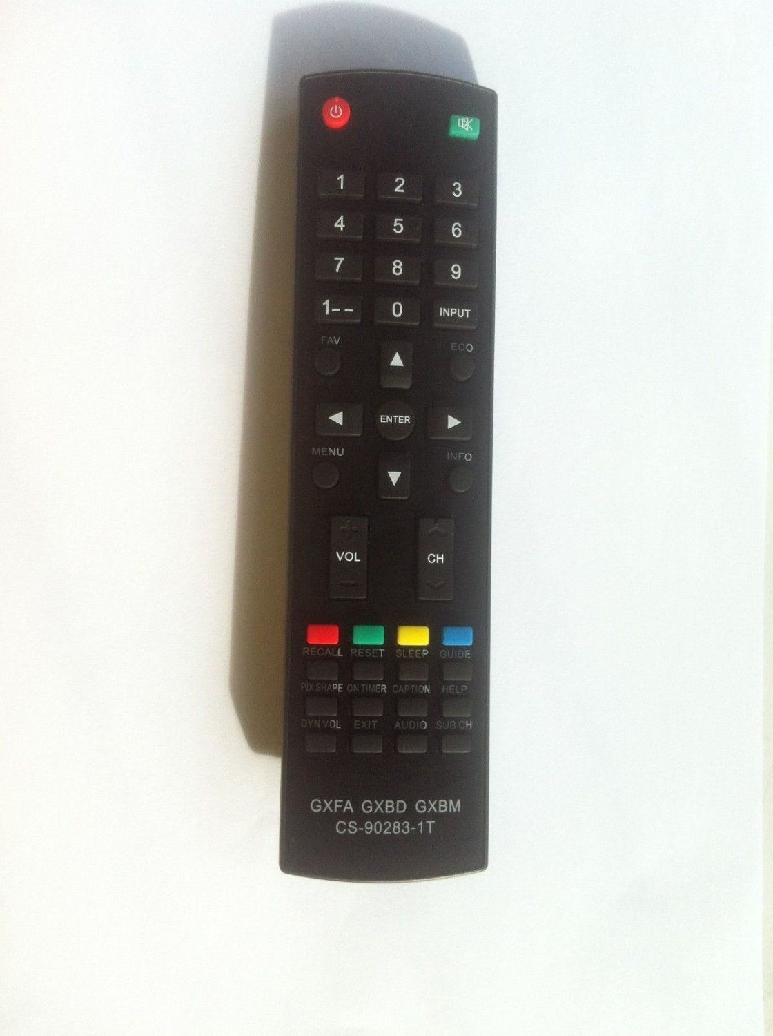 Sanyo GXFA Replaced Remote for GXCC DP19648, DP26649, DP19649, DP32642, DP46812