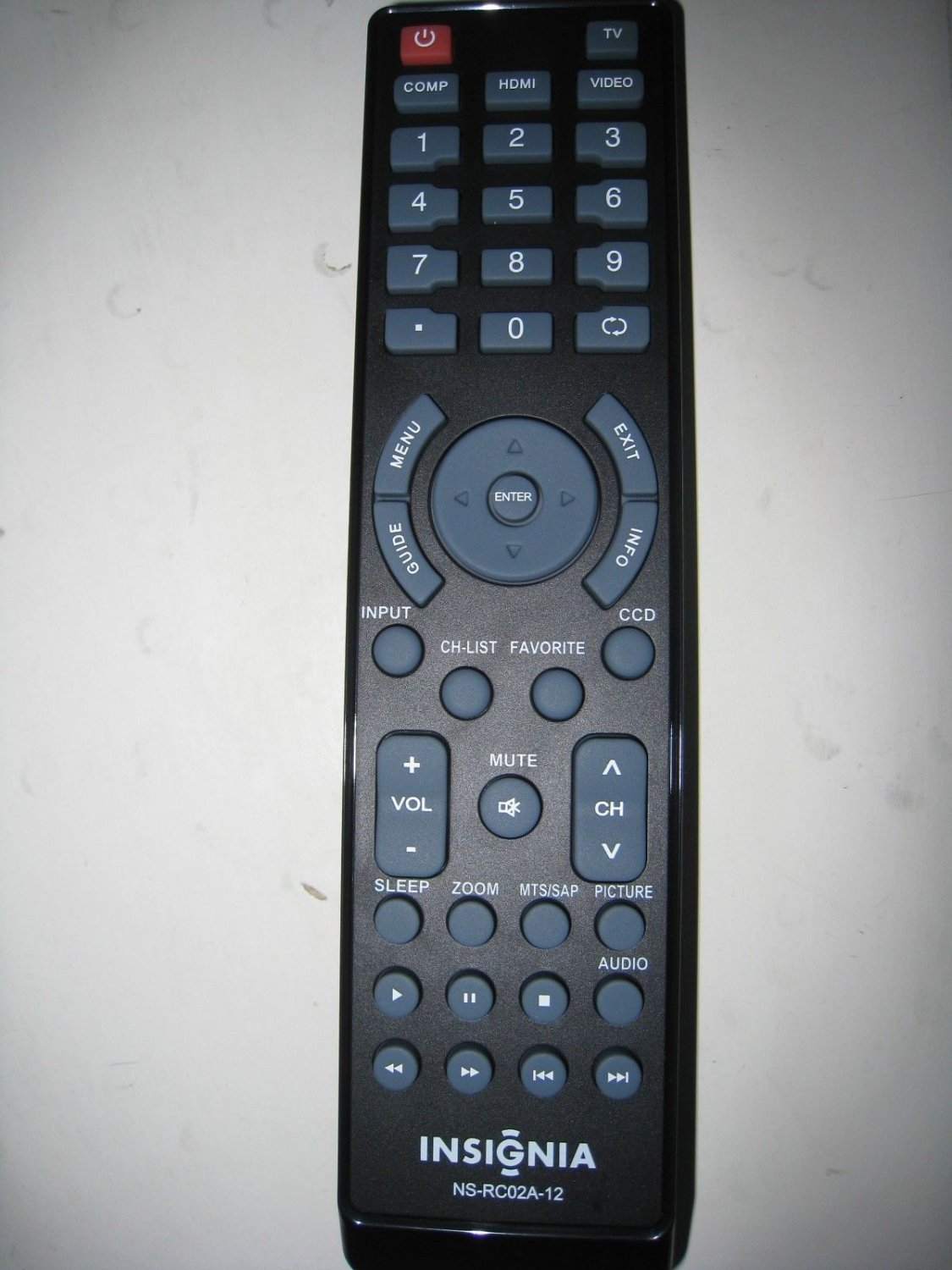 New Insignia Remote NS-RC02A-12 For All Insignia TV