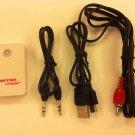 Wireless Stereo Audio Bluetooth Music Player iPod iPhone MP3-4-5 PC