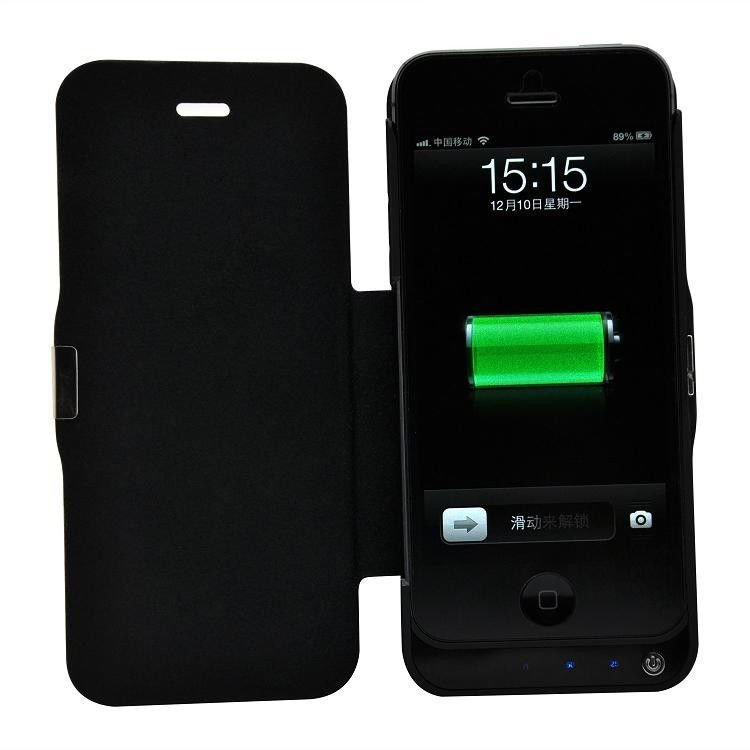 New 2200mAh External Battery Backup Power-Skin case for IPhone 5 iphone 5G