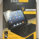 Zagg Keyboard & Folio Case ZAGGkeys Profolio for iPad MINI Bluetooth