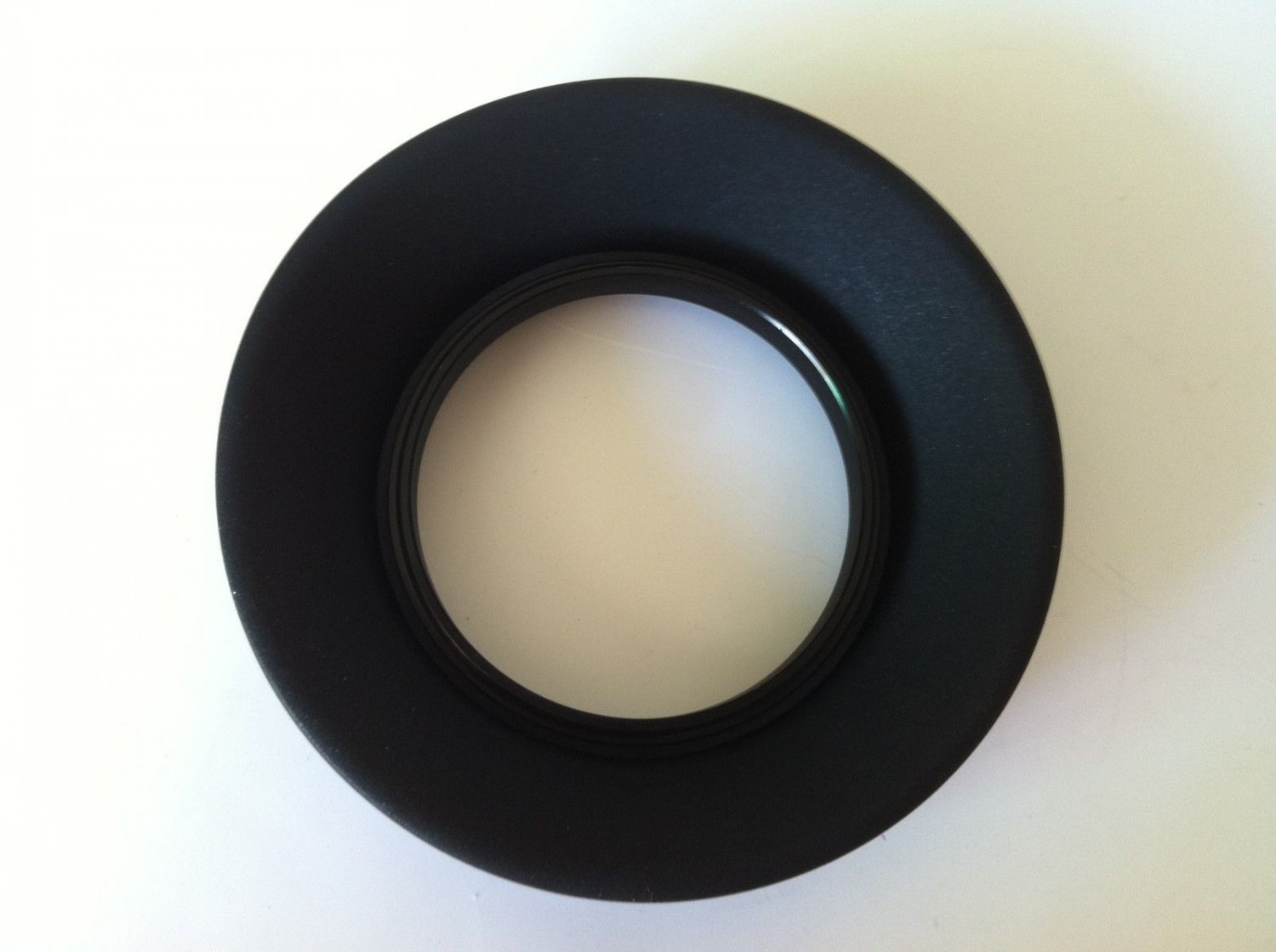 New 58mm 3-in-1 3-Stage Collapsible Rubber Lens Hood