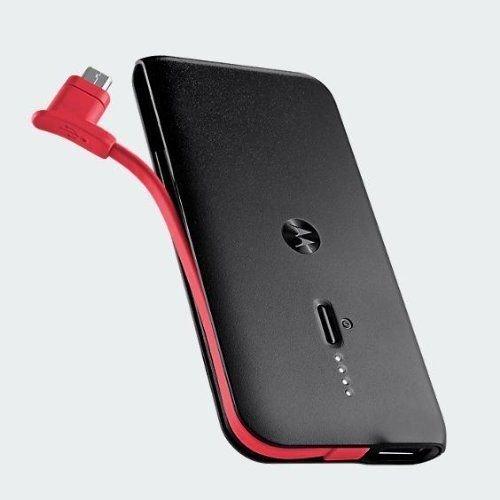 Motorola Power Pack Slim 2000 mAh Portable Battery Pack & AC Charger