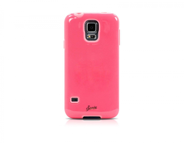Sonix Samsung Galaxy S5 Case Glossy Poppy Pink