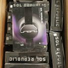 Lots of 5 Black Sol Republic Tracks V8 On-Ear Headphones