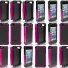 Lot of 24 Ballistic SG0926-M365 Screen Guard Casefor iPhone 5-5s Pink-Black