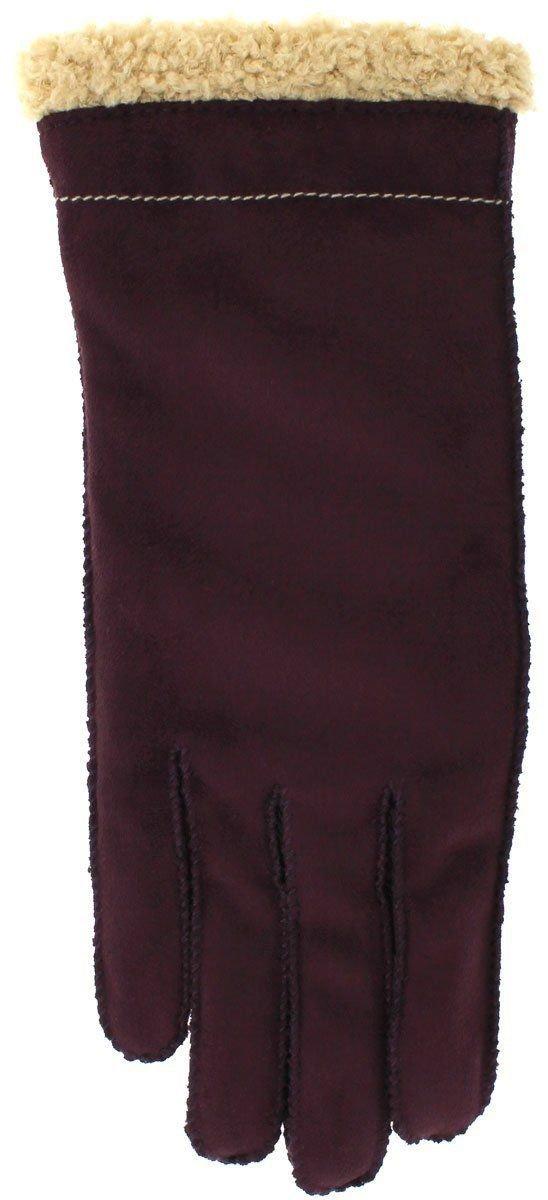 Grandoe Women's Cozy Lamb Touchscreen Gloves - Purple - Size L
