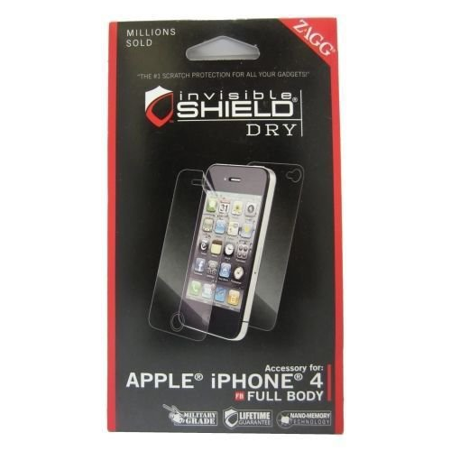 ZAGG Invisible Shield Screen Protector for Apple iPhone 4