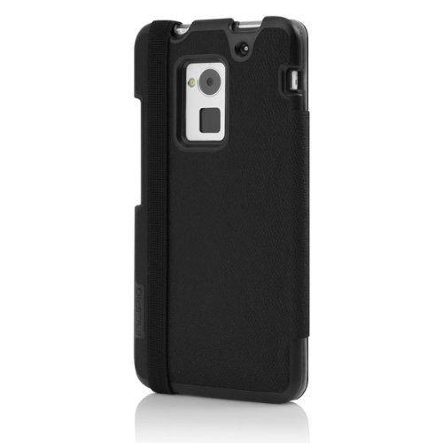 Incipio Watson Wallet Folio for HTC One Max - Retail Packaging - Black
