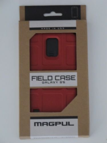 New Magpul Field Case Cover for Samsung Galaxy S5-New in Box-RED