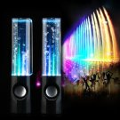 LED Dancing Water Show Music Fountain Light Speakers for Phone Computer Laptop