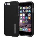 "Incipio Apple iPhone 6 Dual Pro 4.7"" Case Dual Layered Cover Black Gray"