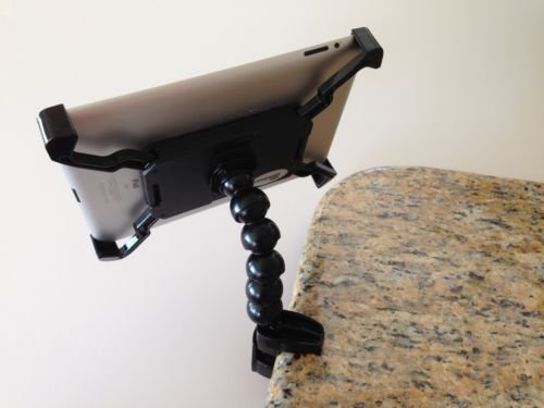 New Stand for iPad 1, 2,3,4 Tripod Mount, Desk Clamp & Headrest Mount All in one