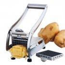 Stainless Steel French Fry Potato Cutter Maker Slicer Chopper Dicer  2 Blades