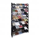 New 50 30Pair Shoe Rack Free Standing Adjustable Organizer Space Saving 10