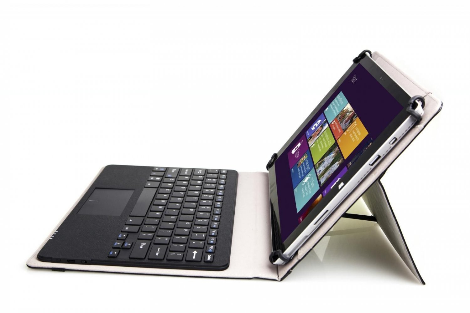 ASUS VivoTab 12 Leather Case Cover Bluetooth Keyboard Cover with Touchpad
