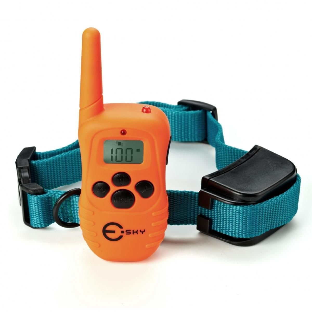 Esky Rechargeable LCD Remote Shock Control Pet Dog Training Collar 100 Level
