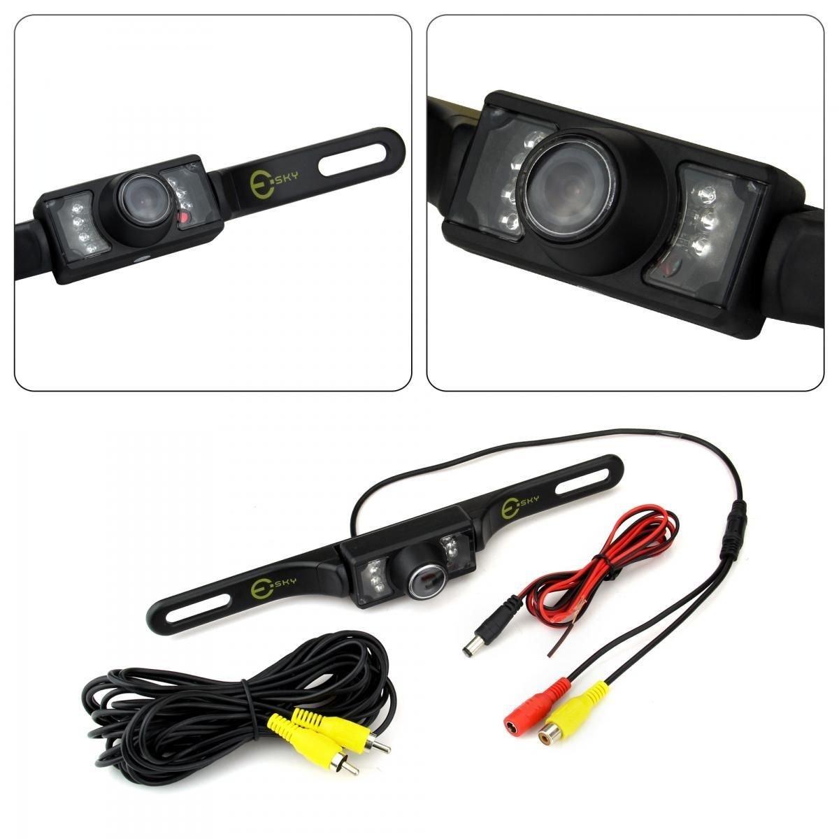 Universal CMOS Waterproof 7 LED Car Rear View Reverse Backup Parking Camera