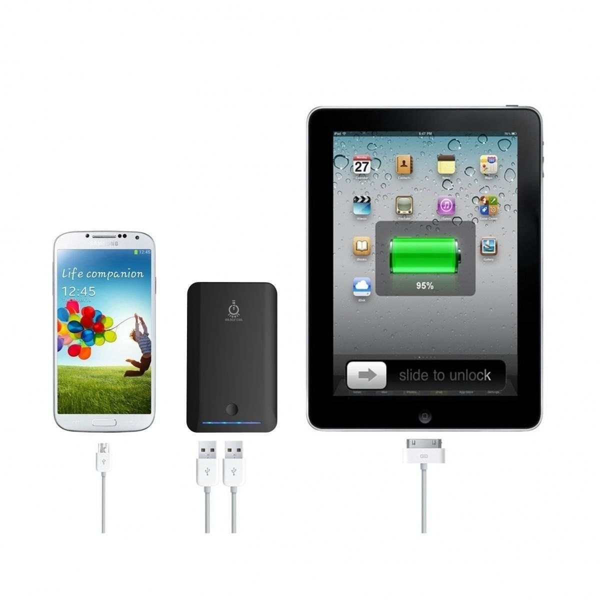 8400mAh External Battery Pack Power Charger For Samsung Galaxy S4, S3, S2, note2
