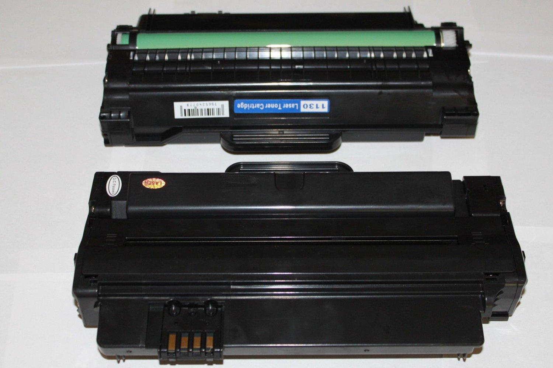 2 x Black Toner Cartridge for Dell 1130 1130n 1133 1135n Laser Printer 2500Pgs