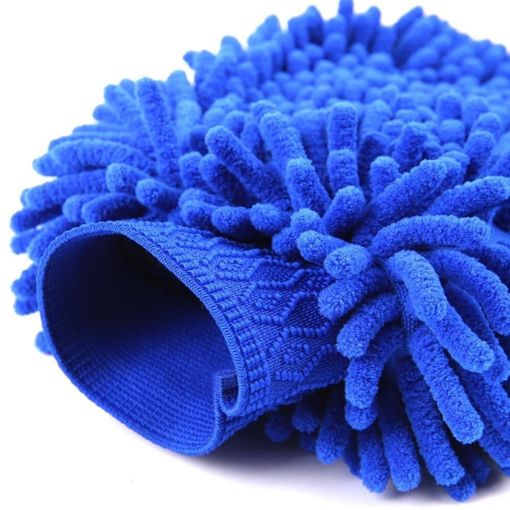 New Multifunctional Wash Mitt Scratch-free Swirl-free Car Wash Mitt Microfiber Mitt