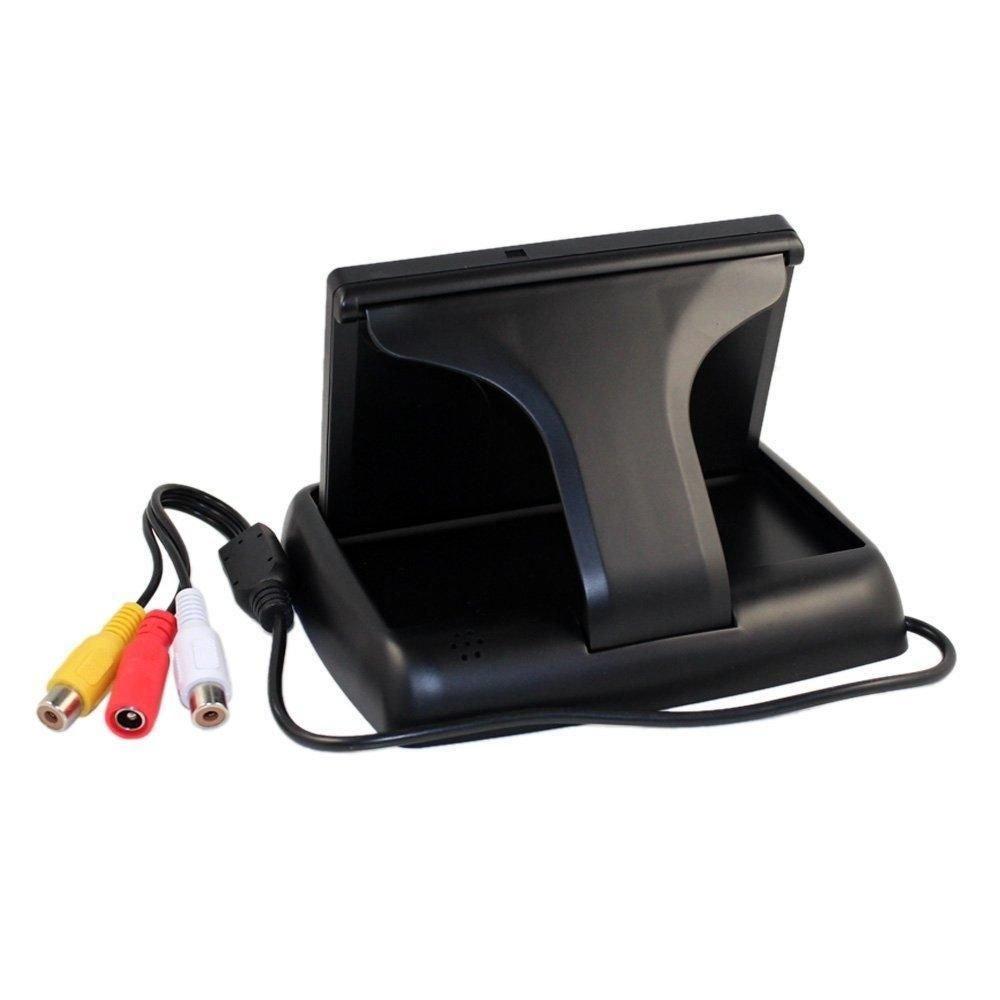 New 4.3 LCD Screen Car Rear View Backup Parking Monitor CMOS Camera Night Vision