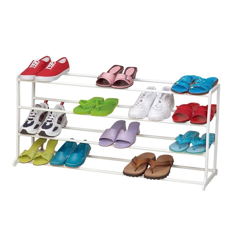 Storage Organizer Cabinet Shelf Space Saving Shoe Tower Rack Stand