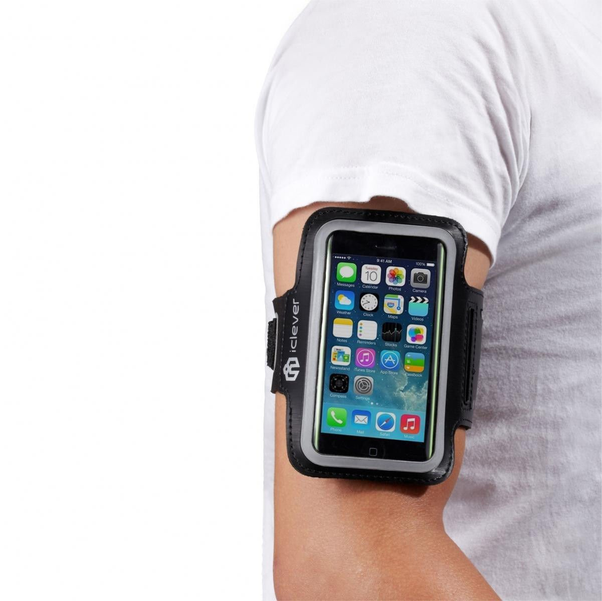 Premium Running Jogging Sports Gym Armband Case Cover Holder for iPhone 5 5S 5C