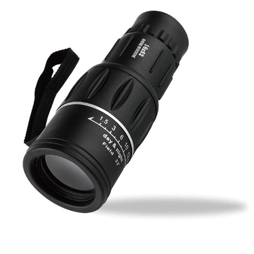 16 x 52 Dual Focus Zoom Optic Lens Armoring Monocular Telescope Outdoor Travel