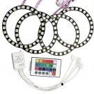 lor SMD 5050 RGB Waterproof LED Flashing Headlight