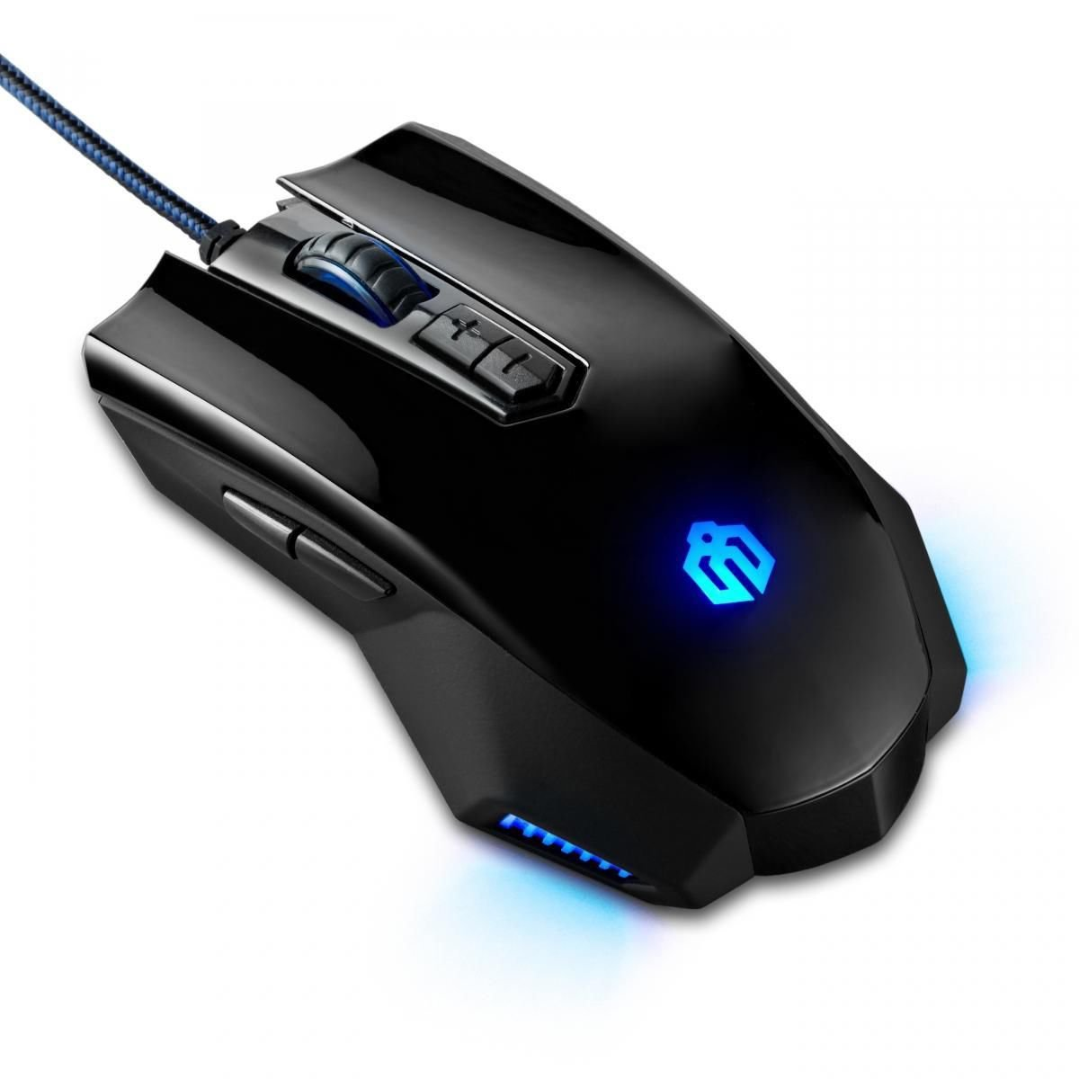 3200 DPI Optical Adjustable 9D Buttons LED USB Wired Gaming Mice for Laptop PC