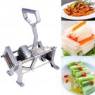 Potato French Fry Fruit Vegetable Cutter Slicer Commercial Blades