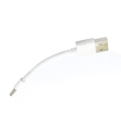 USB sync Charge Cable cord for iPod Shuffle 4th 3RD 5TH 6th 7th 3 4 gen Nano