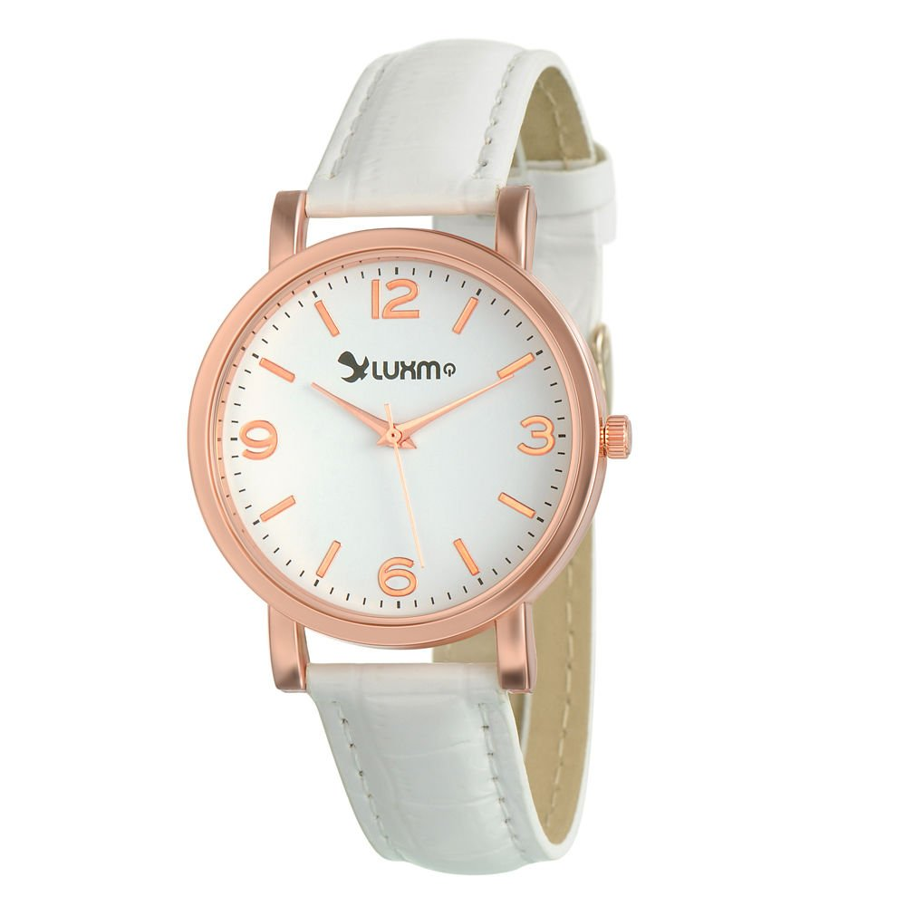 New Women's Analog Display Quartz Watch With CROCO Leather