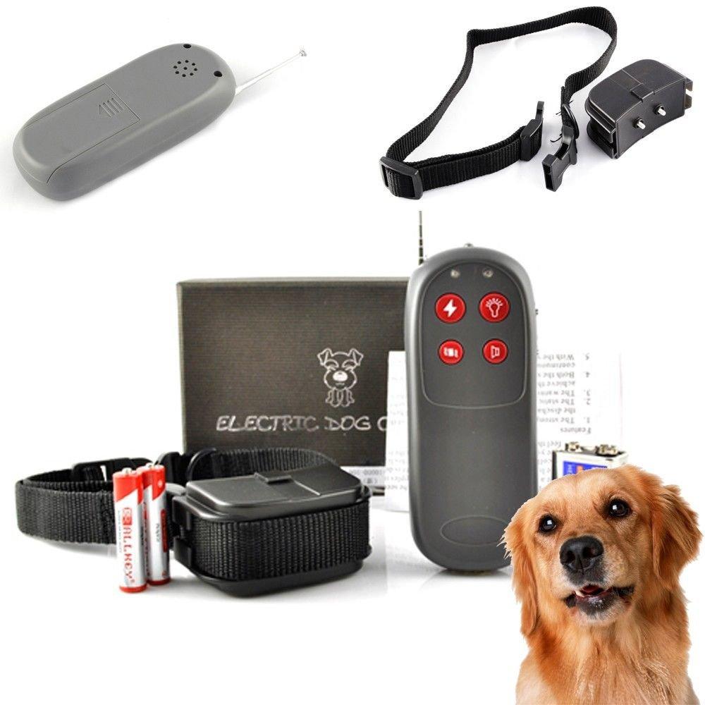 New 4 in 1 Remote Dog Training Shock Vibrat�e Collar Trainer