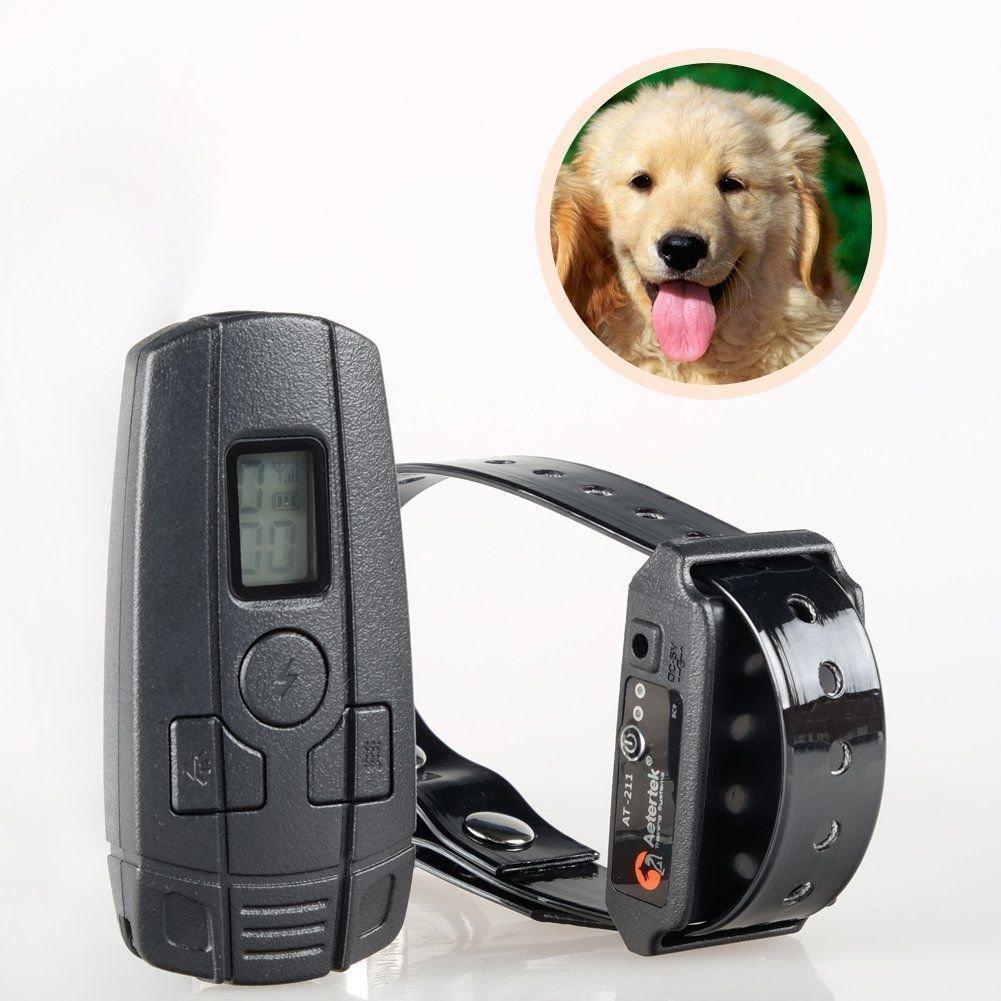 Aertek AT-211SW For 1 Small Dog Cat Training Vibrate Shock Collar