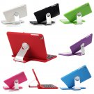New Cover Case with Swivel Rotary Stand Bluetooth Wireless Keyboard for iPad Mini