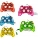 New Afterglow Clear Wired USB Gamepad Game Controller For Microsoft Xbox 360